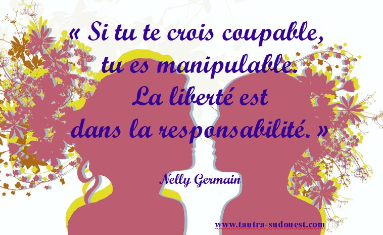 Responsabilité versus culpabilité