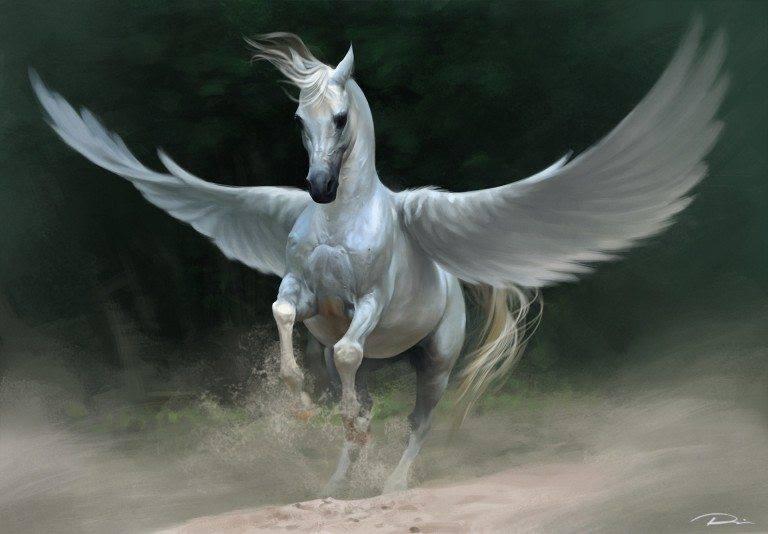 Pégase cheval ailé